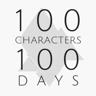 100 Characters 100 Days